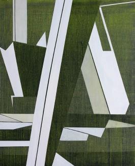 A traves, 162x130cm, Acrílico, 2015